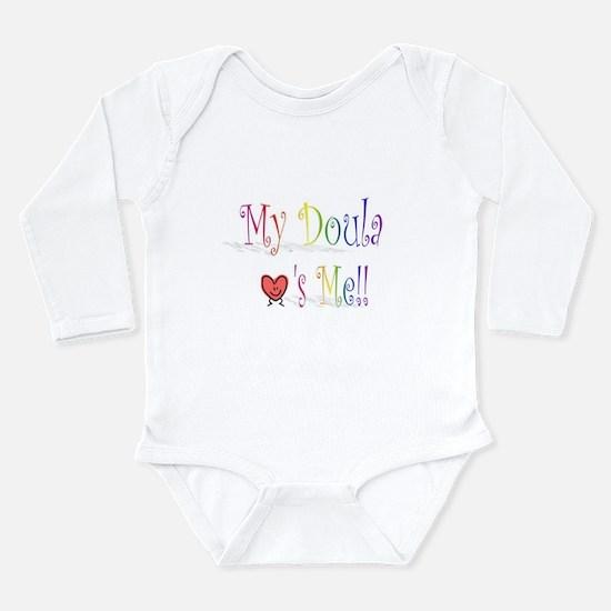 Cute Childbirth Long Sleeve Infant Bodysuit