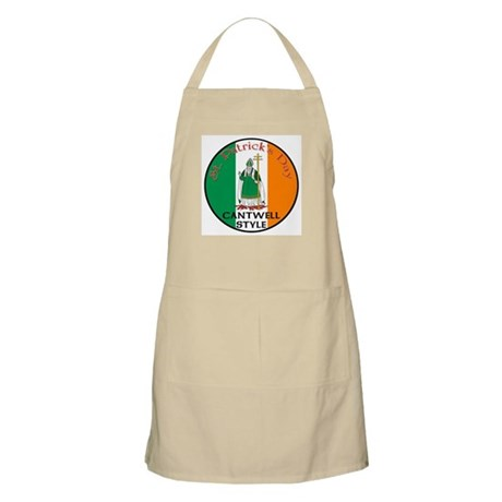 Cantwell, St. Patrick's Day BBQ Apron