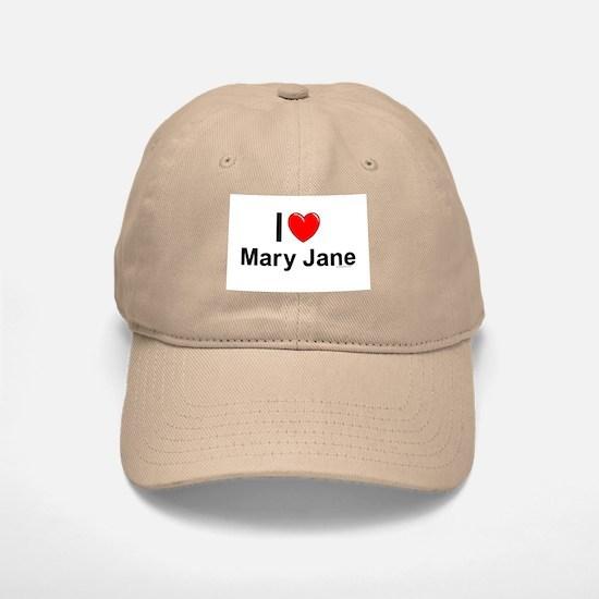 Mary Jane Baseball Baseball Cap