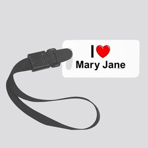 Mary Jane Small Luggage Tag