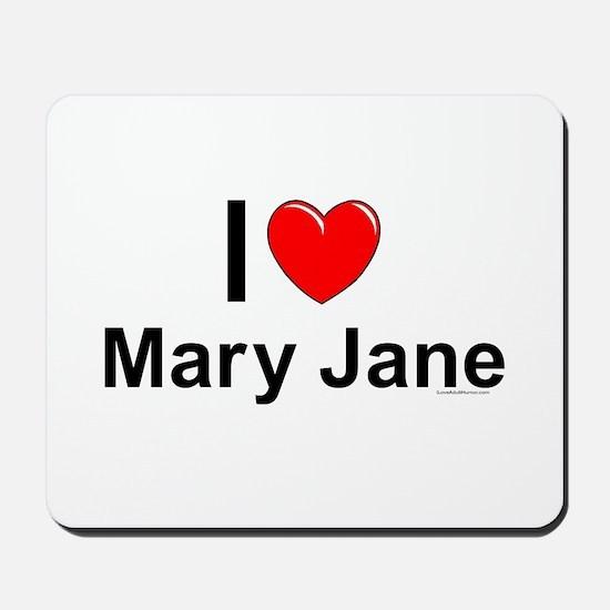 Mary Jane Mousepad