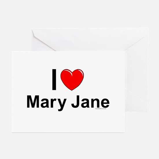 Mary Jane Greeting Cards (Pk of 10)