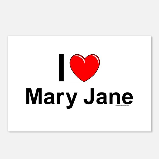 Mary Jane Postcards (Package of 8)