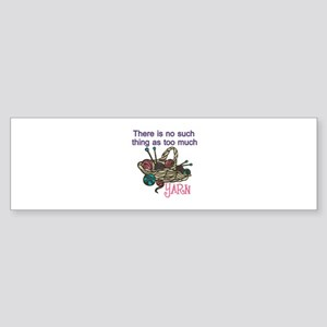 Yarn Balls Bumper Sticker