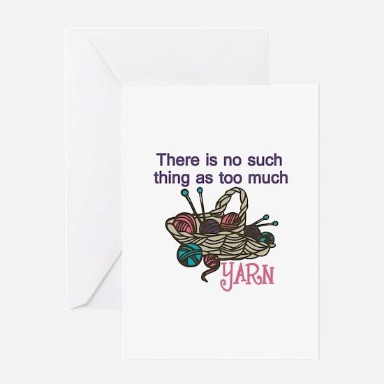 Yarn Balls Greeting Cards