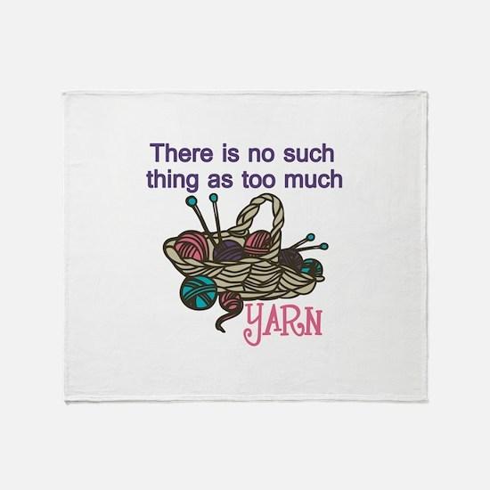 Yarn Balls Throw Blanket