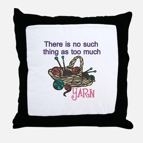 Yarn Balls Throw Pillow