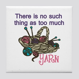 Yarn Balls Tile Coaster