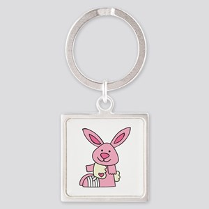 Injured Rabbit Keychains
