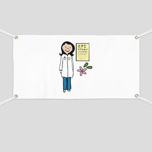 Female Doctor Banner