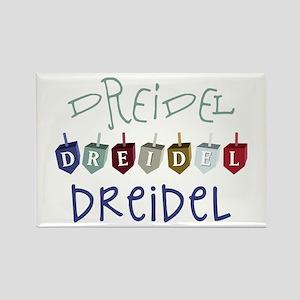 Dreidel Toy Magnets