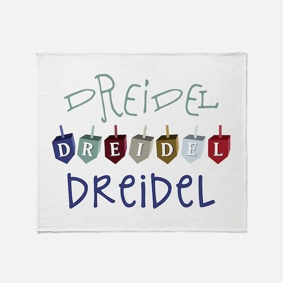 Dreidel Toy Throw Blanket