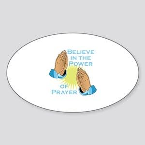 Power Of Prayer Sticker