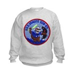 USS DAMATO Kids Sweatshirt
