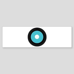Record Bumper Sticker