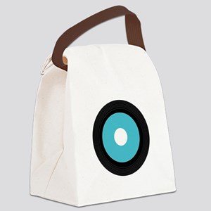 Record Canvas Lunch Bag