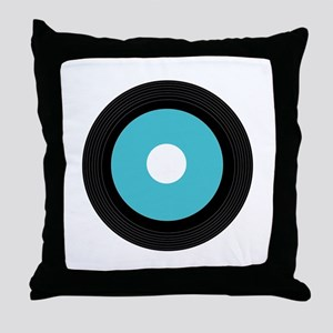 Record Throw Pillow