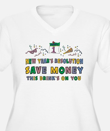 Funny New Year's Resolution T-Shirt