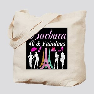 40TH PARIS GIRL Tote Bag