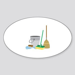 Cleaning Supplies Sticker