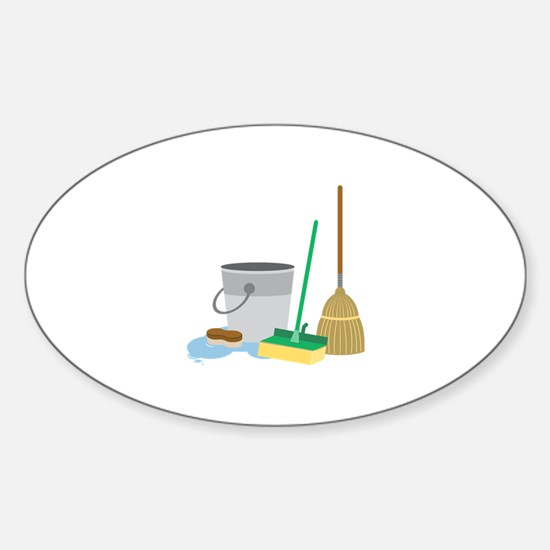 Cleaning Supplies Decal