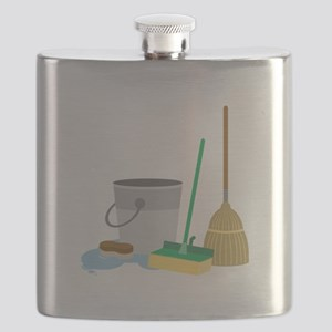 Cleaning Supplies Flask