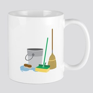 Cleaning Supplies Mugs