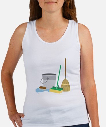 Cleaning Supplies Tank Top