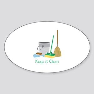Keep it Clean Sticker