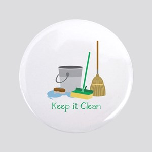 Keep it Clean Button
