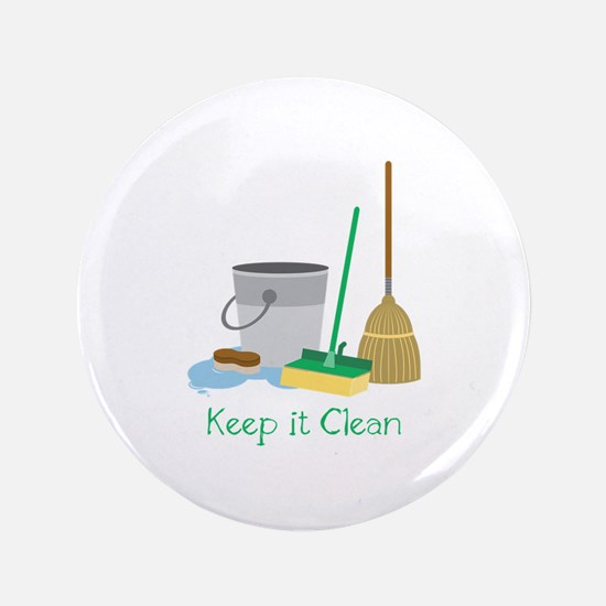 Keep it Clean Button