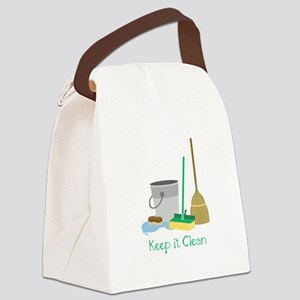 Keep it Clean Canvas Lunch Bag
