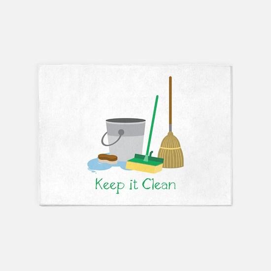 Keep it Clean 5'x7'Area Rug