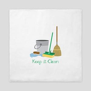 Keep it Clean Queen Duvet