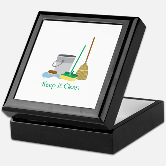 Keep it Clean Keepsake Box