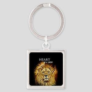 Lion Heart Keychains