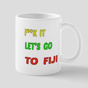 Let's go to Fiji Mug
