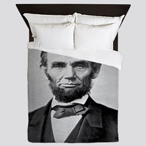 Abraham Lincoln Queen Duvet