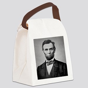 Abraham Lincoln Canvas Lunch Bag