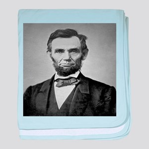 Abraham Lincoln baby blanket
