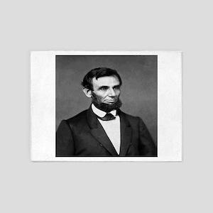 President Abraham Lincoln 5'x7'Area Rug
