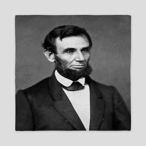 President Abraham Lincoln Queen Duvet