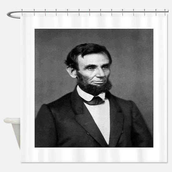 President Abraham Lincoln Shower Curtain