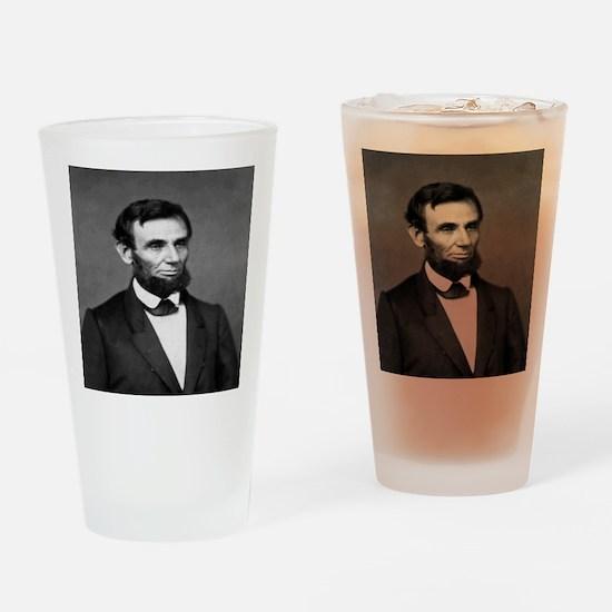President Abraham Lincoln Drinking Glass