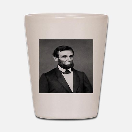 President Abraham Lincoln Shot Glass