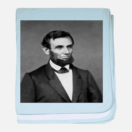 President Abraham Lincoln baby blanket