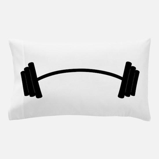 Barbell Weight Pillow Case