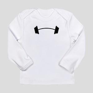 Barbell Weight Long Sleeve T-Shirt