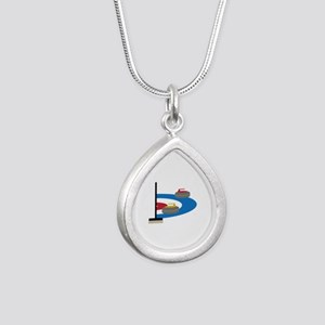 Curling Sport Necklaces