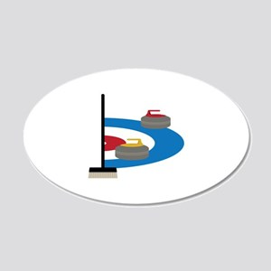 Curling Sport Wall Decal